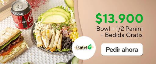 Bowl + 1/2 Panini + Bedida Gratis