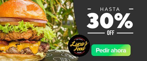 Luca´s Food: Hasta 30% Off