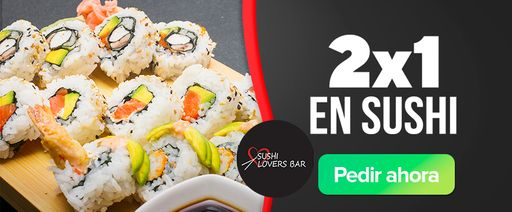 2x1 En Sushi