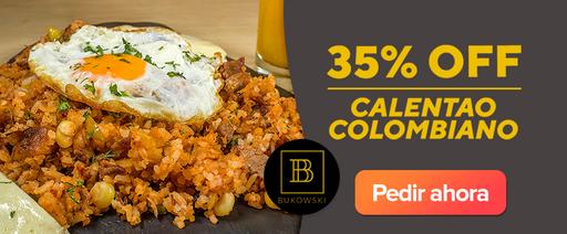 bukowski: Calentao colombiano 35% OFF