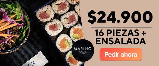 Marino: 16 piezas + Ensalada