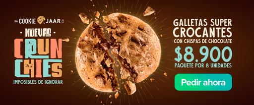 "Cookie Jaar ""Promocion"" Nuevas Crunchies"