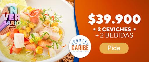 costa caribe 2 ceviches