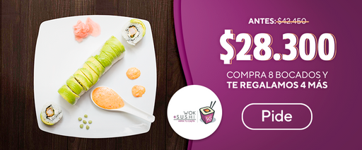 promo wok + sushi