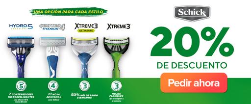 Revenue Colombia-Discount-Banner app y web-Edgewell-Schick