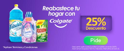 CO- Rev. - Discount-Banner app y web-Colgate Palmolive-Suavitel