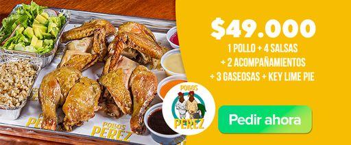 Pollos Perez Menu fines de semana