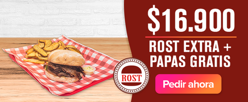 Rost Extra + Papas Gratis