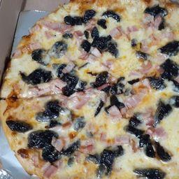 Pizza ciruela tocineta personal