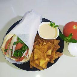 Gyro de Falafel Vegetariano
