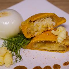 Empanada Horneada Queso con Cebolla