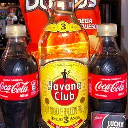 Combo Havana Club Añejo 750ml