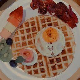 Waffle de Desayuno