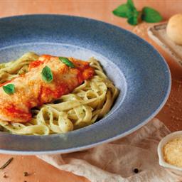 Combinado Pollo a la Parmesana