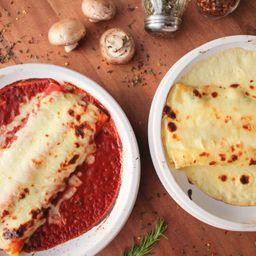 Canneloni Ricotta y Espinaca