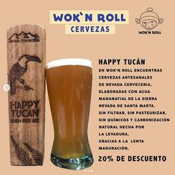 Cerveza Happy Tucan 12 oz