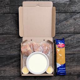 Kit Pasta quesos con pollo