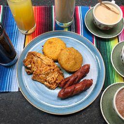 Desayuno Cholula