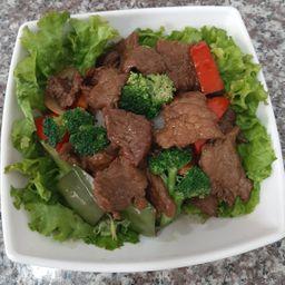 Carné con Brócoli
