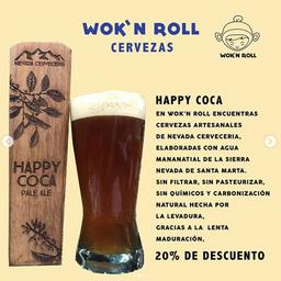 Cerveza Happy Coca 12oz