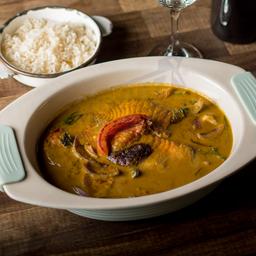 Tilapia al Curry