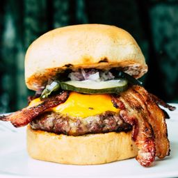 Hamburguesa Cheese & Bacon