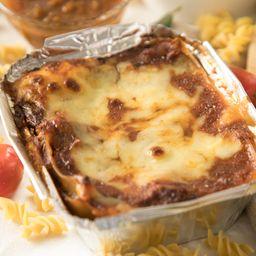 Lasagna Personal con Brownie Gratis