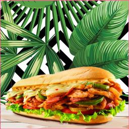 Sándwich Hawái Chicken