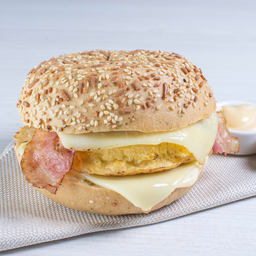 Sándwich de Tortilla de Huevo