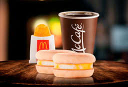 Combo 2 Egg McMuffin + Café + Hashbrown