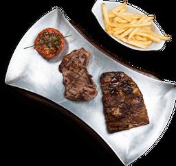 Costillas y Baby Beef