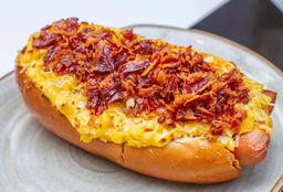 Hot Dog Mac N Cheese