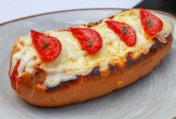 Hot Dog Pepperoni Pizza