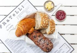 Canasta de panes artesanales (fines de semana)