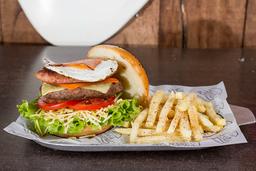 🍔The Rock Band Burger la de la Casa🥓🍳