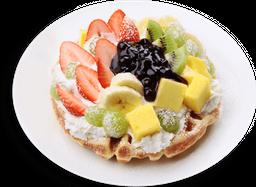 🍓 Waffle Cake