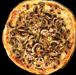 Pizza Mozzarella Tomate y Champiñones