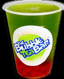 Bubble Tea de Manzana Verde