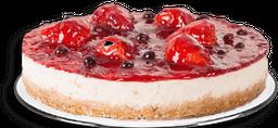 🍰Cheesecake de Frutos Rojos Mediano (10 a 12 porciones)