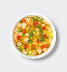 Sopa Campesina de verduras Incluye Coca-Cola Sin Azucar Gratis