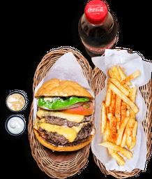 Combo Burger Doble Doble