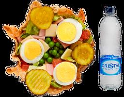 Taco Salad con Agua
