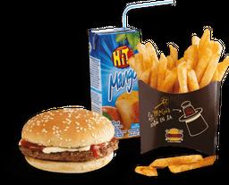 🍔 Combo de Hamburguesa Corralito Infantil