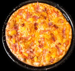 Pizza Jamón Ahumado, Tocineta y piña🍕