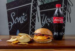 Hamburguesa Rock'n Roll Bacon Cheeseburgers So Lonely