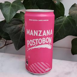 Gaseosa Manzana Postobón en Lata