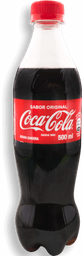 Gaseosa Coca-Cola de 500 ml
