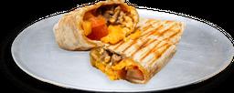 Burrito Carne de Res, Huevo y Queso