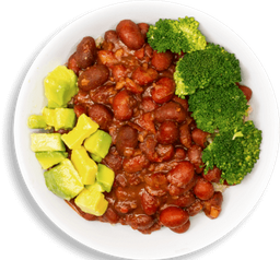 Tazón de Chili Vegano