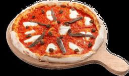Pizza de Anchoas y Alcaparras